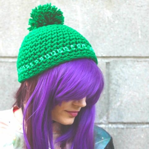 af290ba1 @pinkavenger. 11 months ago. Los Angeles, United States. Clearance Green  Pom Pom Beanie ...