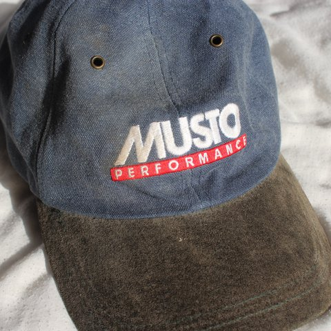 759675b0b @facb19. last year. Sutton, United Kingdom. VINTAGE MUSTO PERFORMANCE CAP  SICKK AND RARE USED BUT WEAR ...