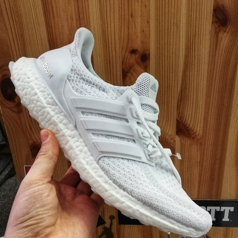 ADIDAS ULTRA BOOST 2.0 • TRIPLE WHITE • BRAND NEW IN BOX • • - Depop 7be3e6a27