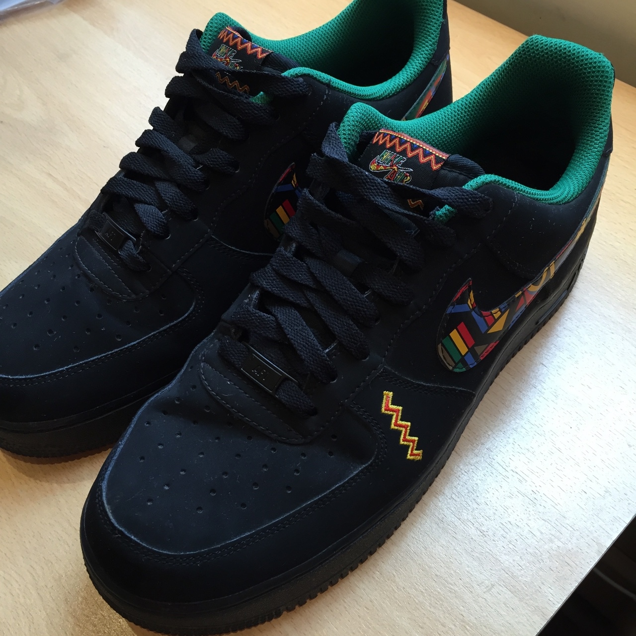 Gym With Peace Air Nike Force 1 Low Urban Jungle Depop mN8n0vwO