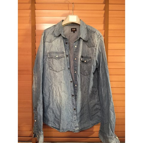 236661617cb vintage lee denim shirt