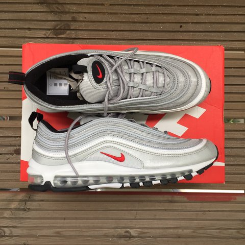1434b91a0d @heemsta. 2 years ago. London, United Kingdom. Nike Air Max 97 'Silver  Bullet'. 2017 Re-Release.