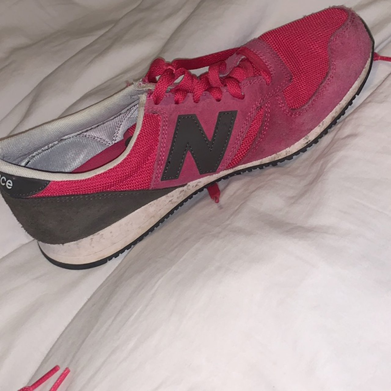 Trainers Rare Pink Colouway - Depop