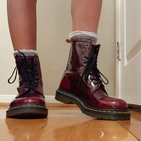 c9002db02c606 @gabbybry. 6 months ago. Columbus, United States. Size 8 burgundy doc  martens -in good condition (only ...