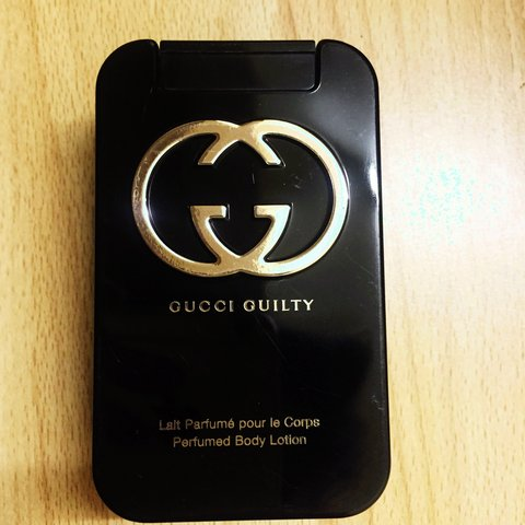 a771105e7 @mazz_33. 4 years ago. Dublin, Ireland. Brand new, unopened Gucci Guilty  perfumed body lotion ...