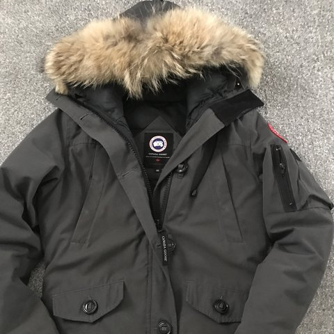 55ce816f486 @horsty. 2 years ago. Chipping Ongar, United Kingdom. Ladies graphite grey Canada  goose montebello ...