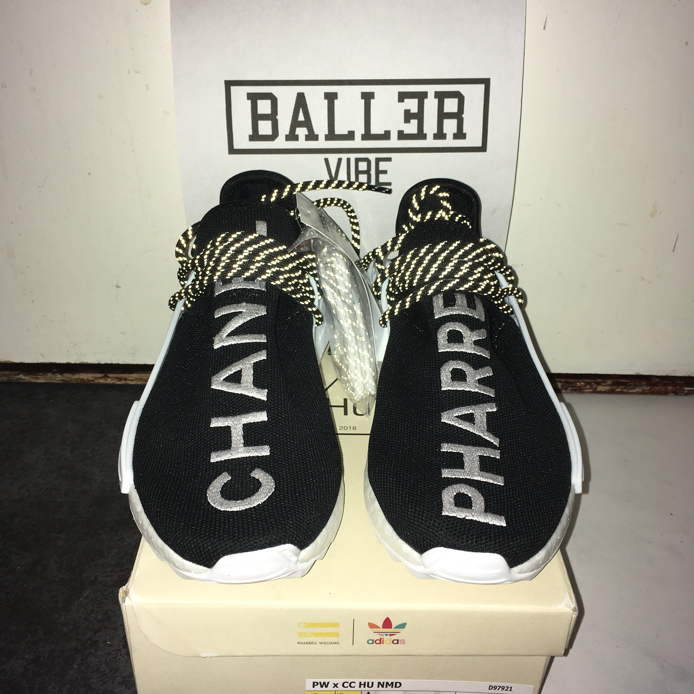 wholesale dealer c82d0 09a15 Adidas x Chanel Human Race by Pharrell Williams. Uk5 ...