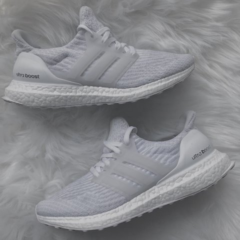 279211d74f9c0 Adidas 3.0 White Ultraboost Women s ✨🖤   size  6   have a   - Depop