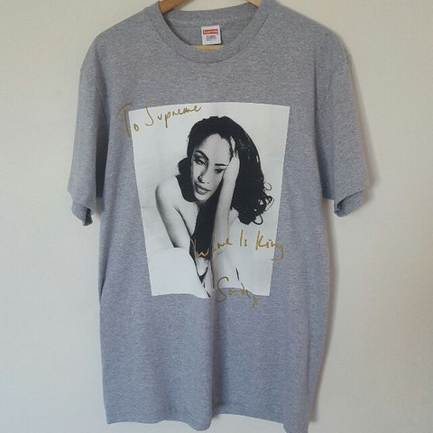 3972ea0f3a08 Supreme Sade tee from ss17 drop, brand new only been taken a - Depop