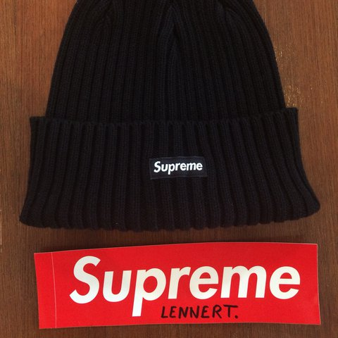 d32842c435cb0 Supreme overdyed ribbed beanie Condition  10 10 Price  + - Depop