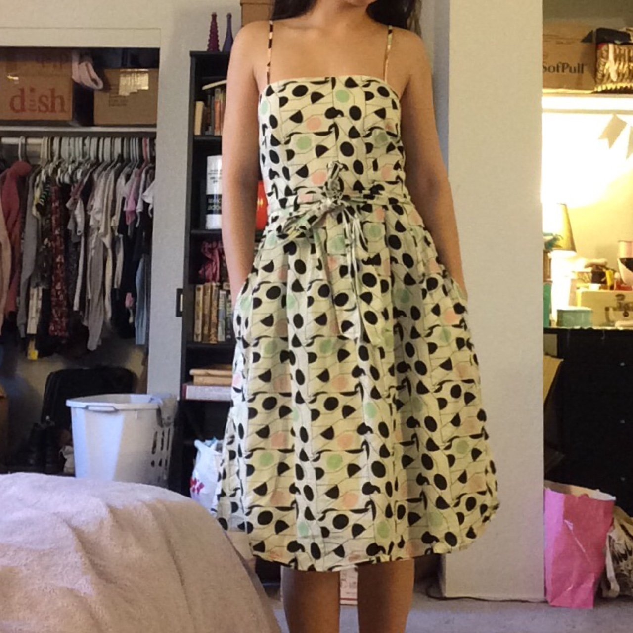 Vintage retro 50 s inspired party dress from H M 81b4d23f892cf