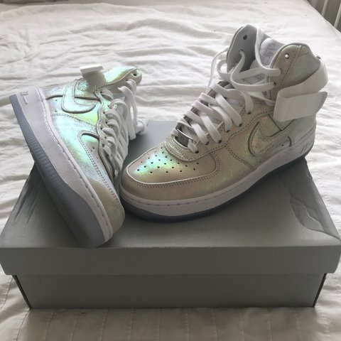 new product febfe 8c02a  xxohfayfay. 10 months ago. London, United Kingdom. Amazing limited edition holographic  Nike Air Force 1   ...