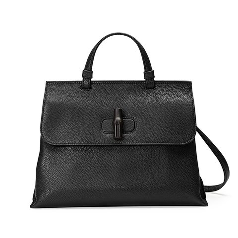 7a4f8dd71026 @dkovaa. 4 months ago. Spokane, United States. Gucci Bamboo Daily Leather  Top Handle Bag