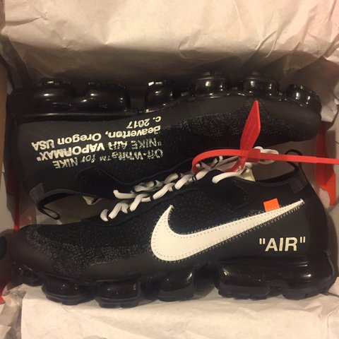 3469795bfc Nike x Off White Virgil Abloh 'The Ten' Vapormax FK. Size / - Depop