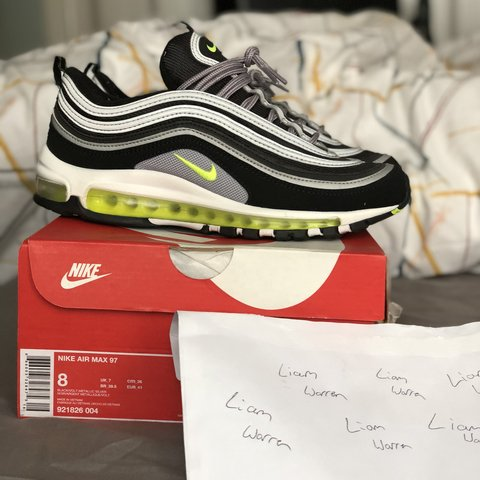 bcb6c31260 Og Only Air With Depop Max Box Is 97 Neon Uk7 A Comes japan Worn 00R4zrx