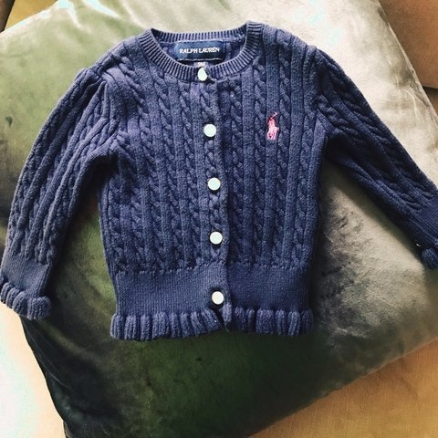 Ralph Lauren Cardigan 9 Months Girls' Clothing (0-24 Months)