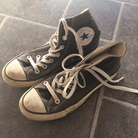 3948866f33f39e Converse All Stars shoes (Very worn and dirty in some but - Depop
