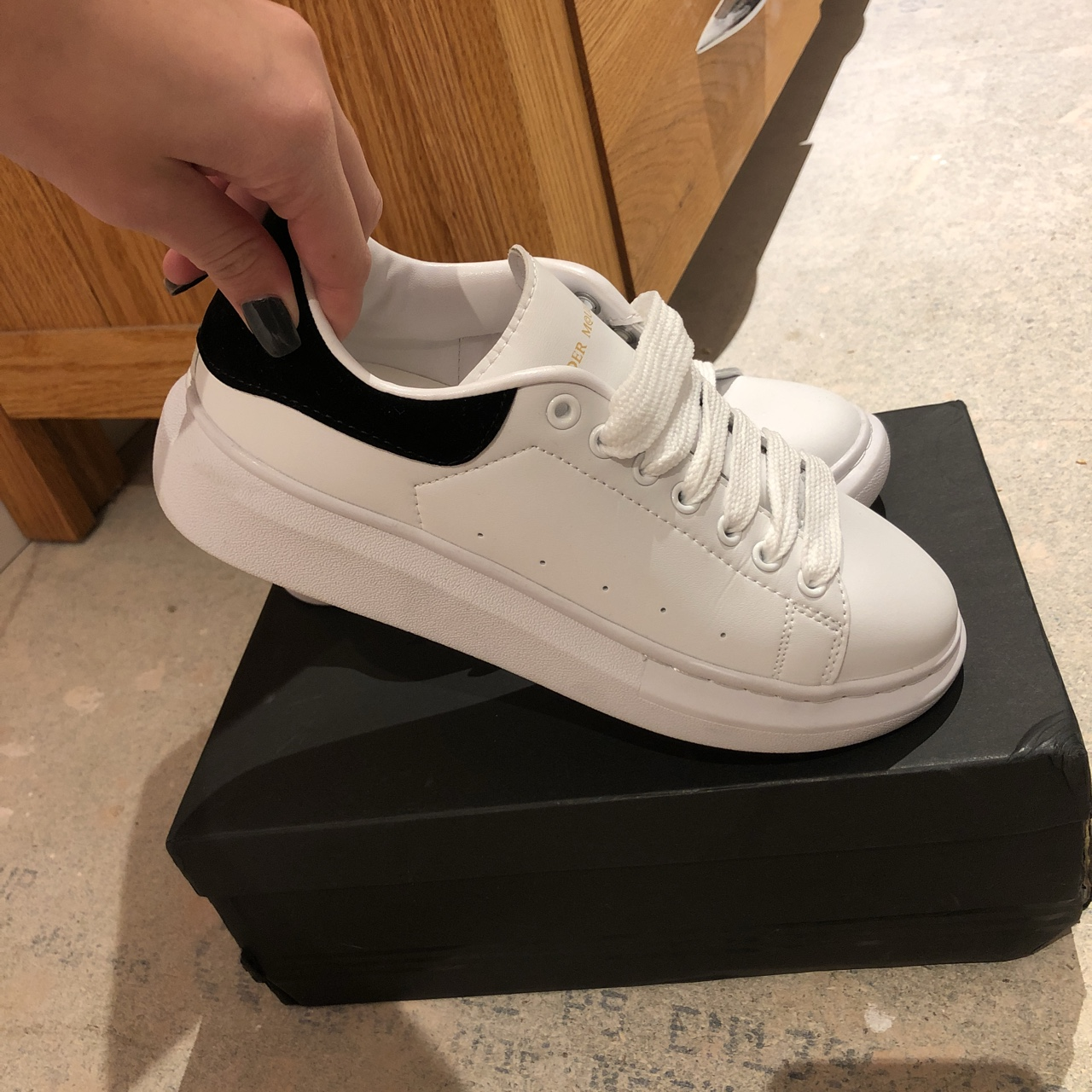 ALEXANDER MCQUEEN style TRAINERS SIZE 6