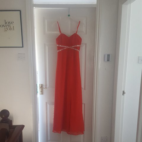 ad58211386d9 @shannon_iom. last year. United Kingdom, GB. Lipsy London Red Prom/Formal  Dress. Size 8. Only worn once ...