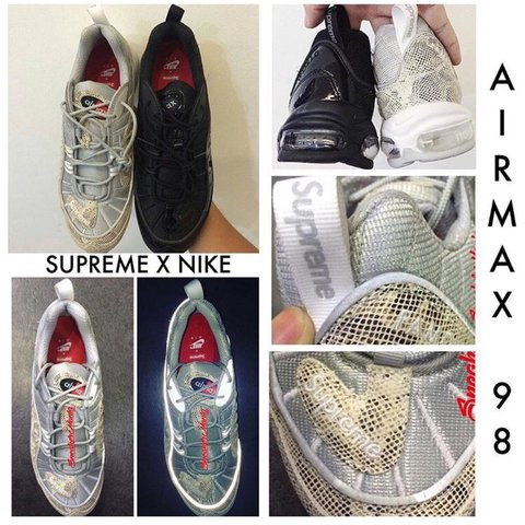 8c3a826d893e Supreme Air Max 98 rumored for S S 16! Thoughts  Supreme - Depop