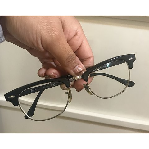 aeed720931 Authenthic Ray Ban Clubmasters✨ They are prescription lenses - Depop