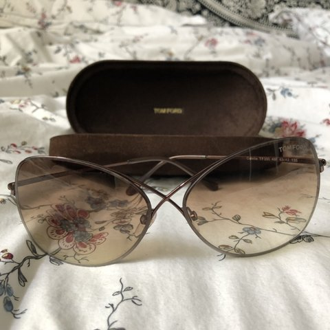 75a1952983bca Brand new Tom Ford Colette Butterfly Sunglasses 🦋 includes - Depop