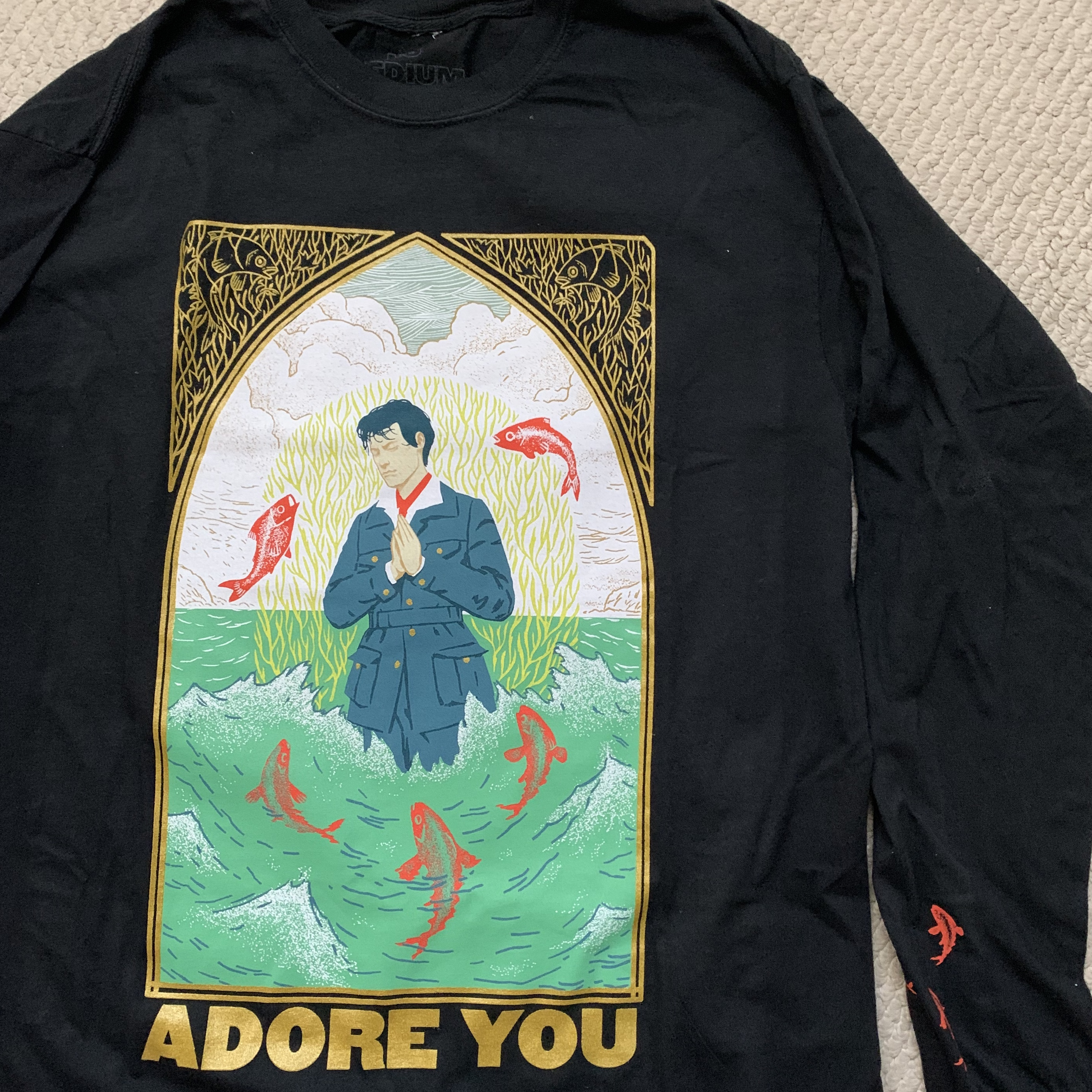 Adore Los Angeles exclusive harry styles adore you longsleeve! from - depop