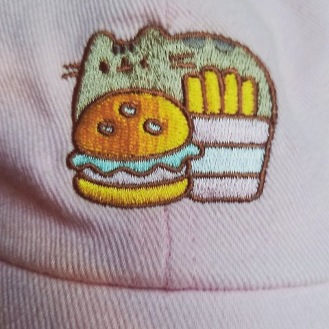 a51353975a1 Bought this pusheen baseball cap last summer and only wore I - Depop