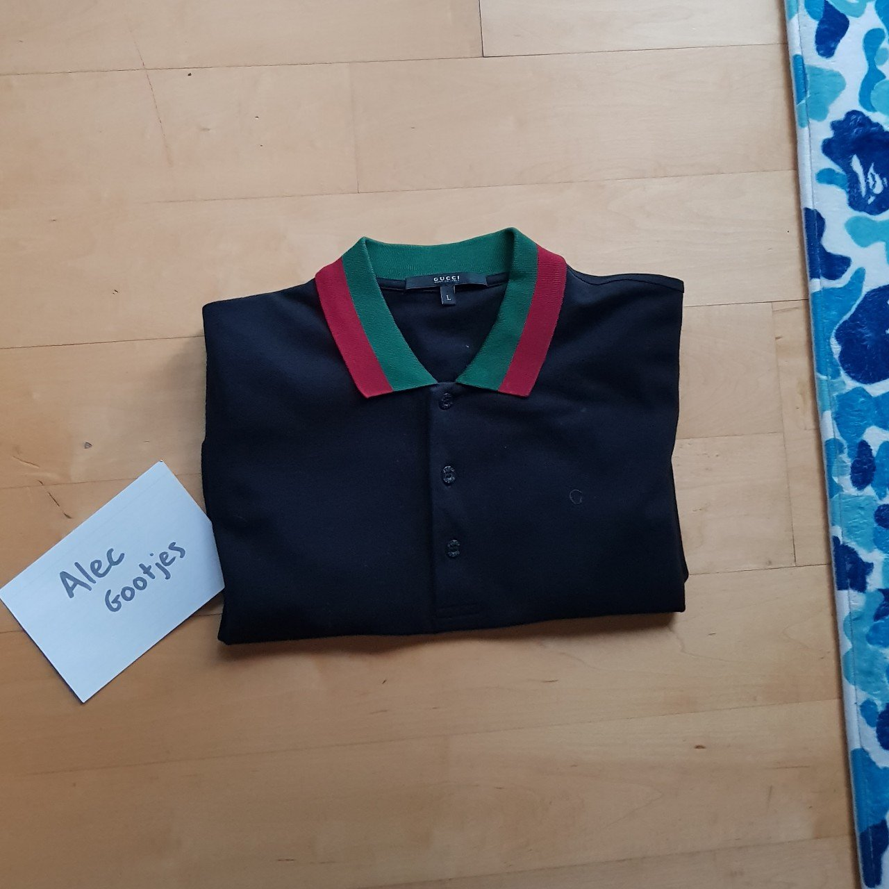 8e4055f769e AUTHENTIC Gucci Polo Size Large Very Good Condition Very - Depop