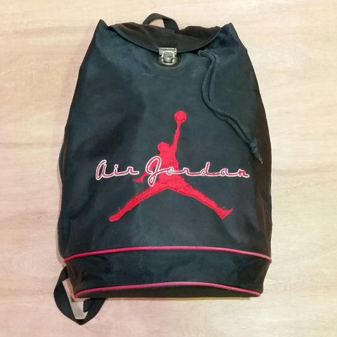 Vintage Rare Nike Air Jordan rucksack   backpack Free UK  og - Depop e035607128e87