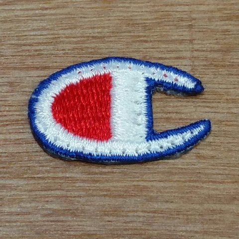 6100fe0da32a Genuine vintage small Champion logo patch you can sew on you - Depop