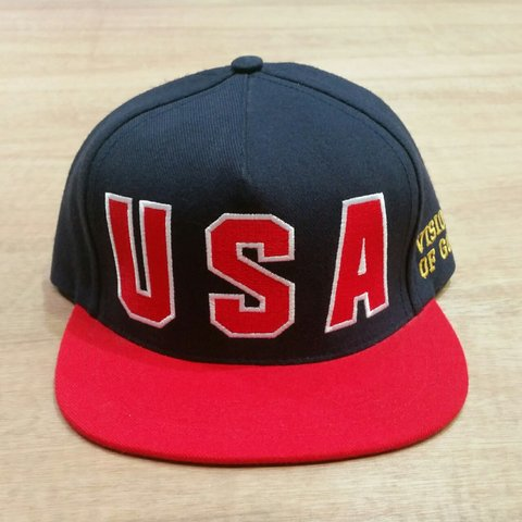 de16afb9f25 ... sweden supreme usa vision of gold snapback baseball cap condition depop  c4fb9 7b2da