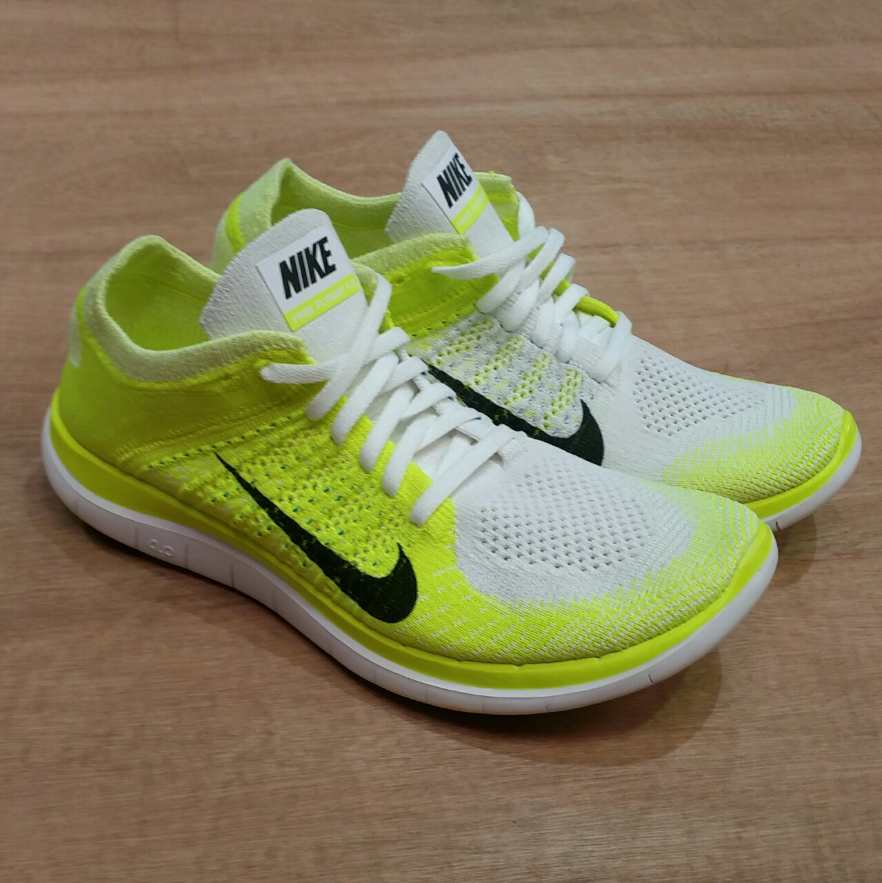 new product c48c0 4bf7e New Womens Nike Free 4.0 Flyknit Size UK 7 - (will... - Depop