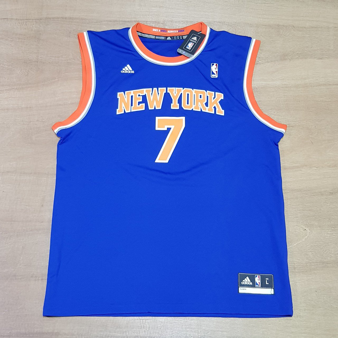 New with tags New York Knicks NBA Basketball Jersey by L 24