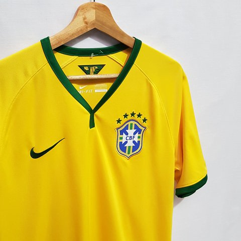 efebe0a1ad0 Brazil National Football shirt by Nike Size L 21.5