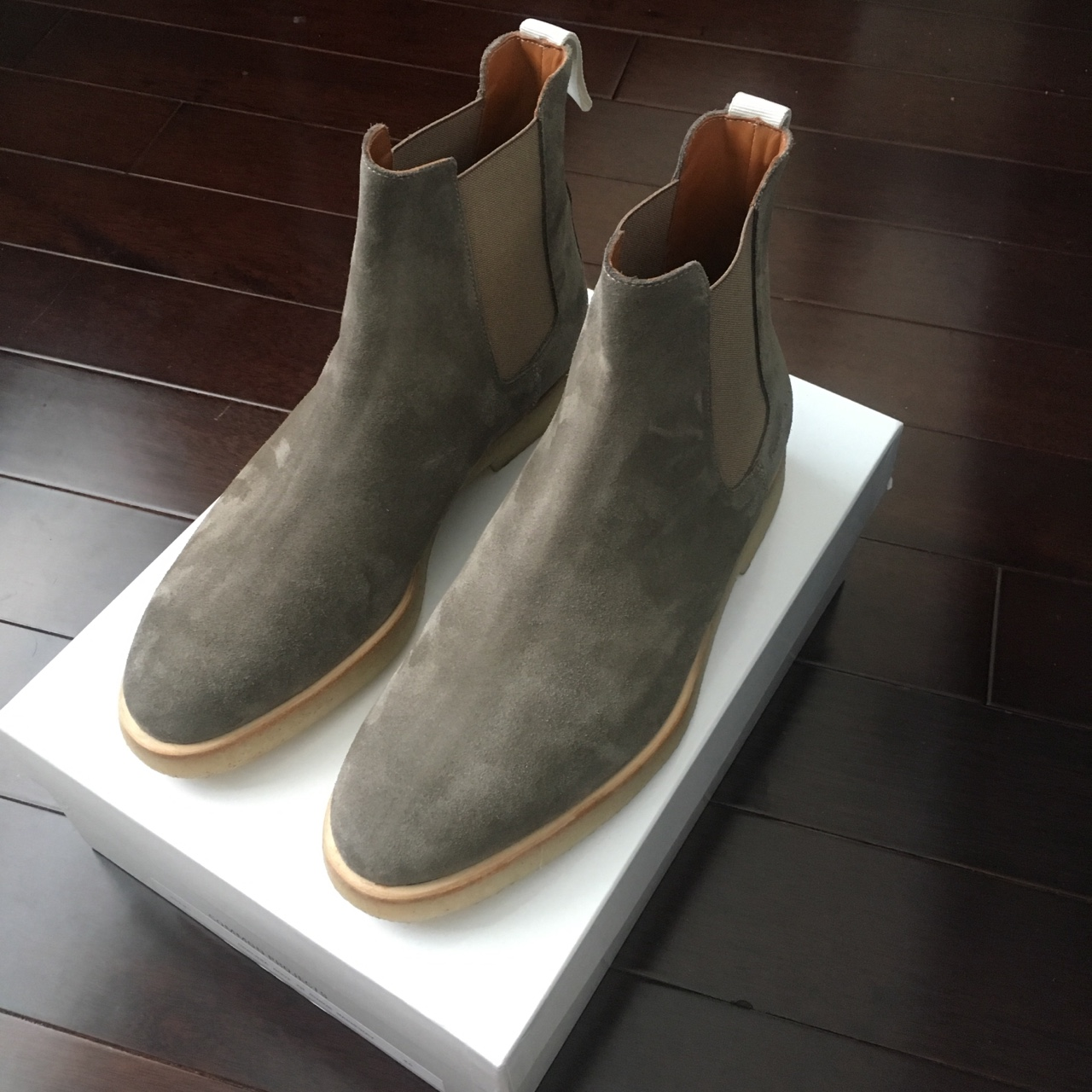 Common Projects Chelsea Boot Warmgrey