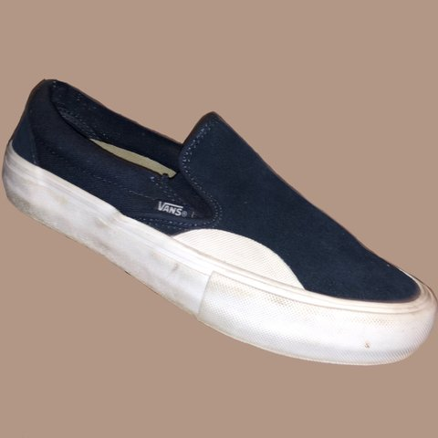 8c2fca9308ef27  fionashaia. 3 months ago. United States. VANS Slip On Pro (Rubber) Dress  Blues White UltraCush Skate
