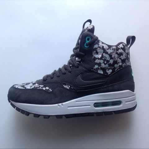 sports shoes 4eeb6 13570  fashionistainthehouse. last year. United Kingdom. Nike Air Max 1 Mid  Liberty ...