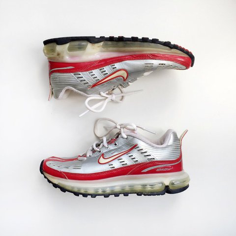 hot sales cbc93 a66c9 ... where can i buy 2005 nike air max 360 silver red trainers. uk size 3