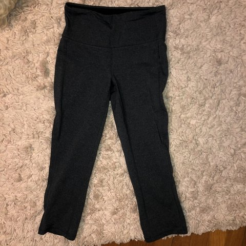 7abdf0bff4 These cropped Lucy leggings are great! They are a heathered - Depop