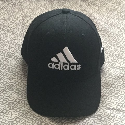 802d53678481f ▫️Black Adidas Hat▫ Brand New! Never been worn! Good there - Depop