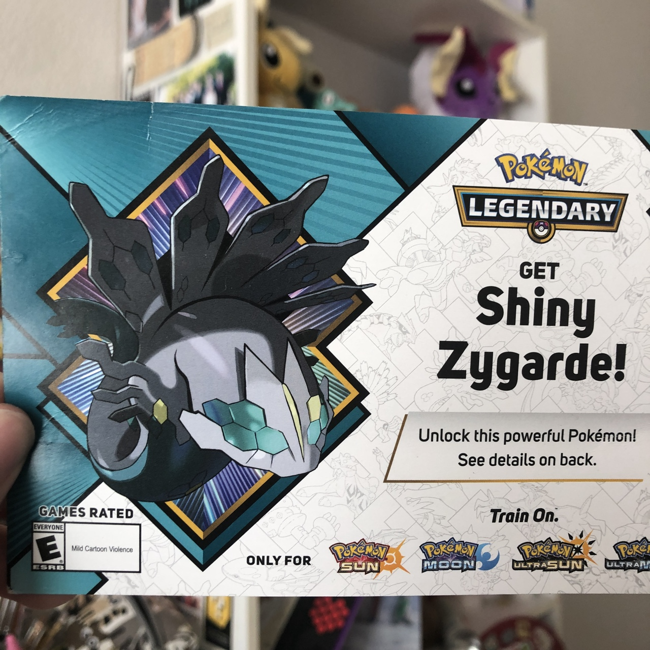 LAST DAY TO CLAIM $1 Shiny Zygarde Pokemon Code