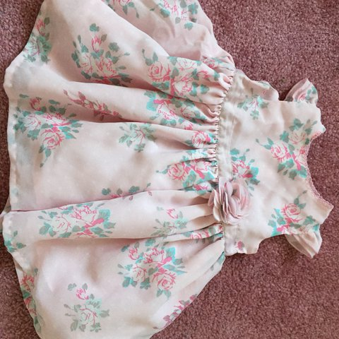0ea523a14ae 0-3 months baby girl dress from mothercare. Floral print - Depop