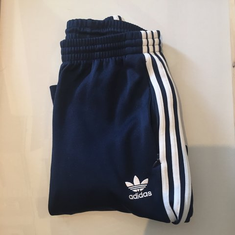 decc5fad551b Skiinny Adidas track bottoms tracksuit . Size small. Hardly - Depop