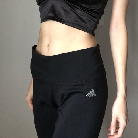 2c1be6d67 @hood4ngel. 11 months ago. Wilmington, United States. Black adidas workout  Capri cropped leggings. Perfect condition ...