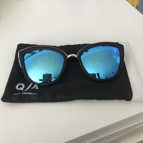 d38b9ead4572 @laurkozo. 2 months ago. Los Angeles, United States. Quay Australia My Girl  Sunnies with Blue Lenses good condition