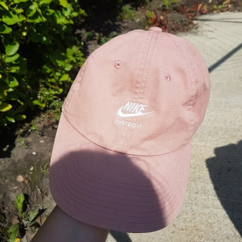 Baby musky pink Nike hat   cap Never worn just tried on - Depop cfdcf29c4bd