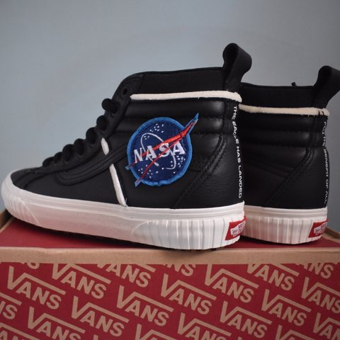 efcce3b0dc57ec LIMITED EDITION NASA VANS- Brand new limited edition NASA   - Depop