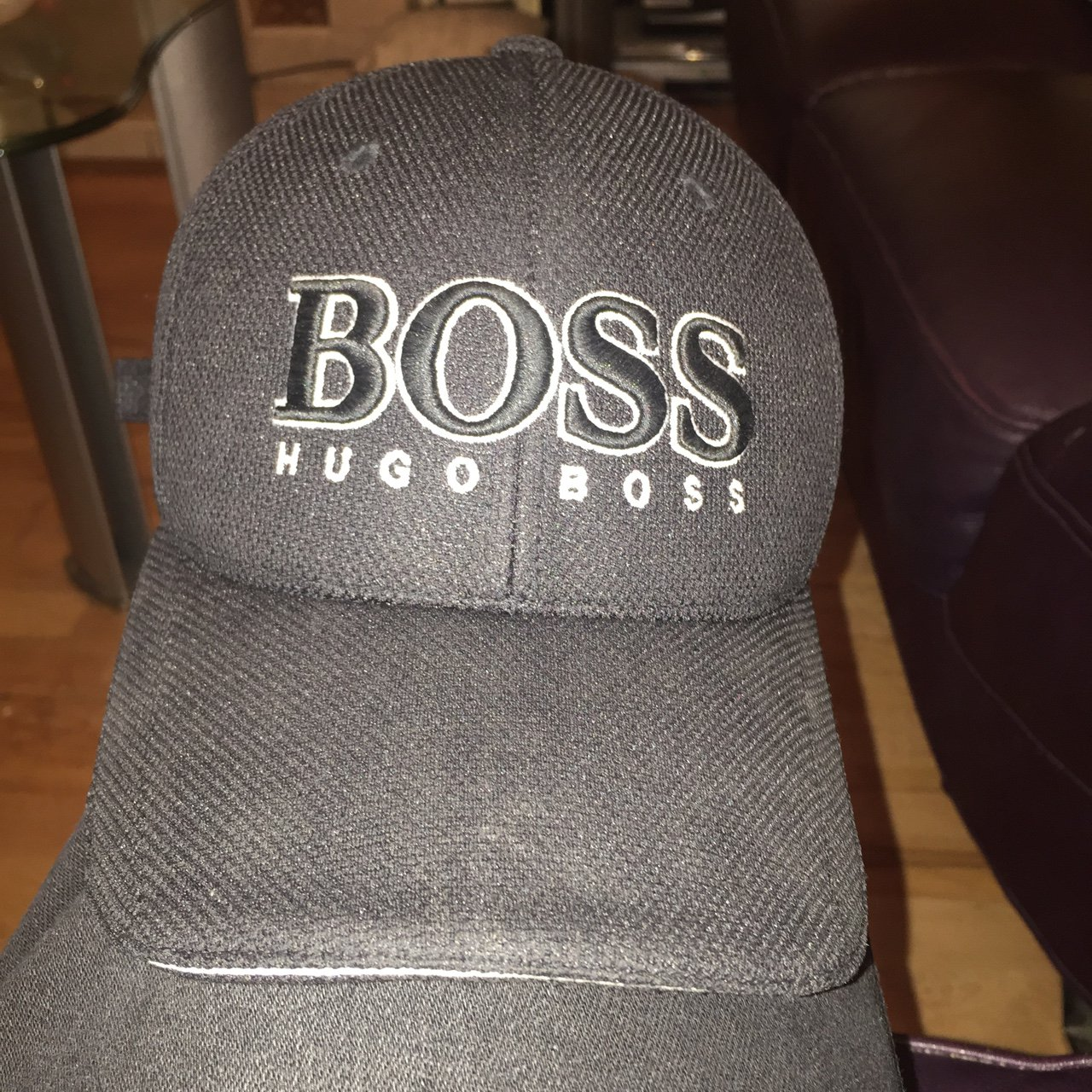 3f5bbfc4c5f Barely worn authentic Hugo boss (green) cap. Bought for - Depop