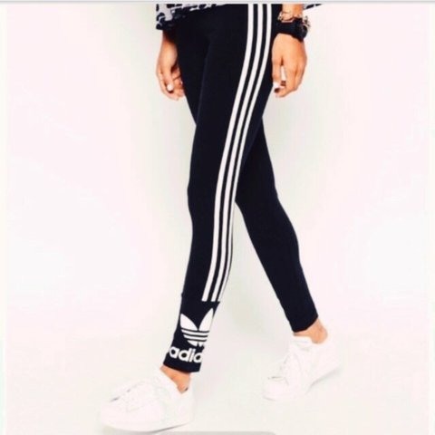 270b9045865e8 @laurahodgson1996. 3 years ago. Plymouth, Plymouth, UK. Adidas three stripe  leggings in size 6. Brought off here but ...